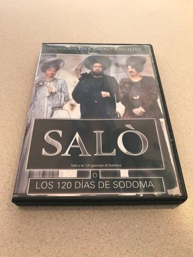 saló, o los 120 días de sodoma. pier paolo pasolini. dvd