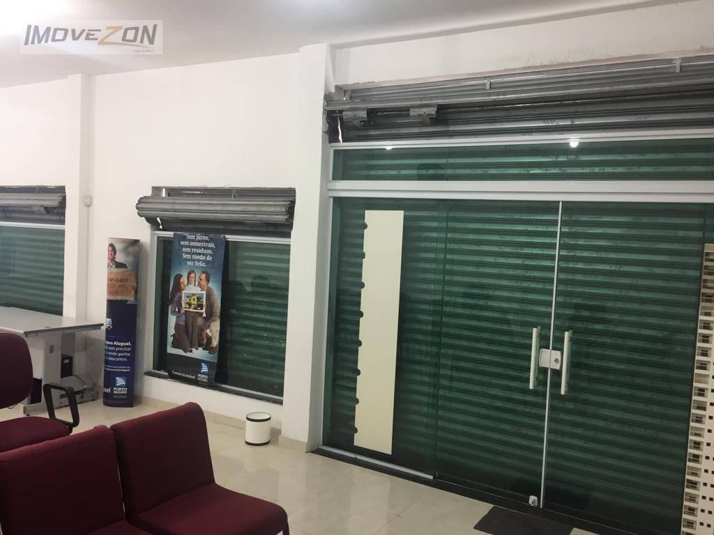 salão para alugar, 100 m² por r$ 2.700/mês - vila carrão - são paulo/sp - sl0124