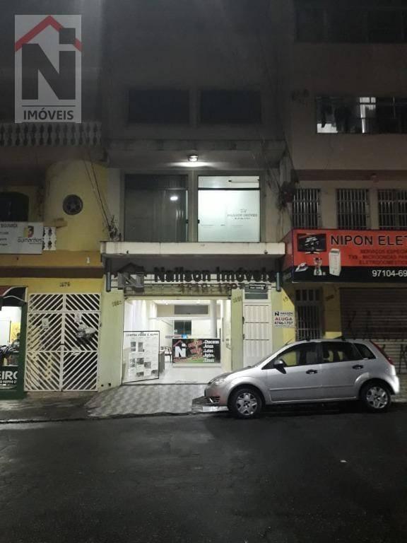 salão para alugar, 100 m² por r$ 3.500/mês - centro - suzano/sp - sl0001