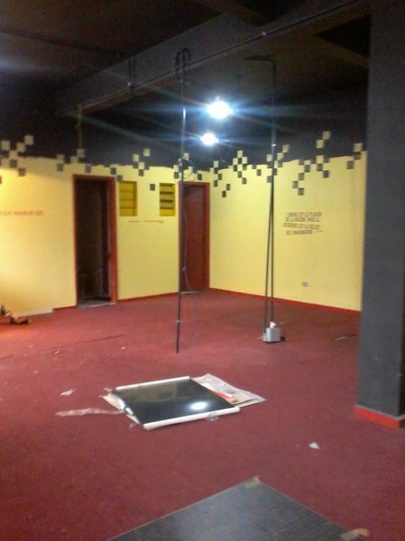 salão para alugar, 102 m² por r$ 2.000/mês - santo antônio - são caetano do sul/sp - sl0289