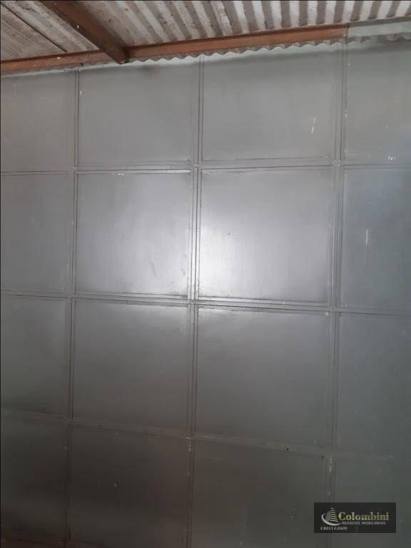salão para alugar, 110 m² - nova gerty - são caetano do sul/sp - sl0070