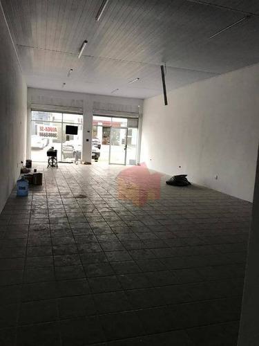 salão para alugar, 110 m² por r$ 2.500/mês - centro - americana/sp - sl0059
