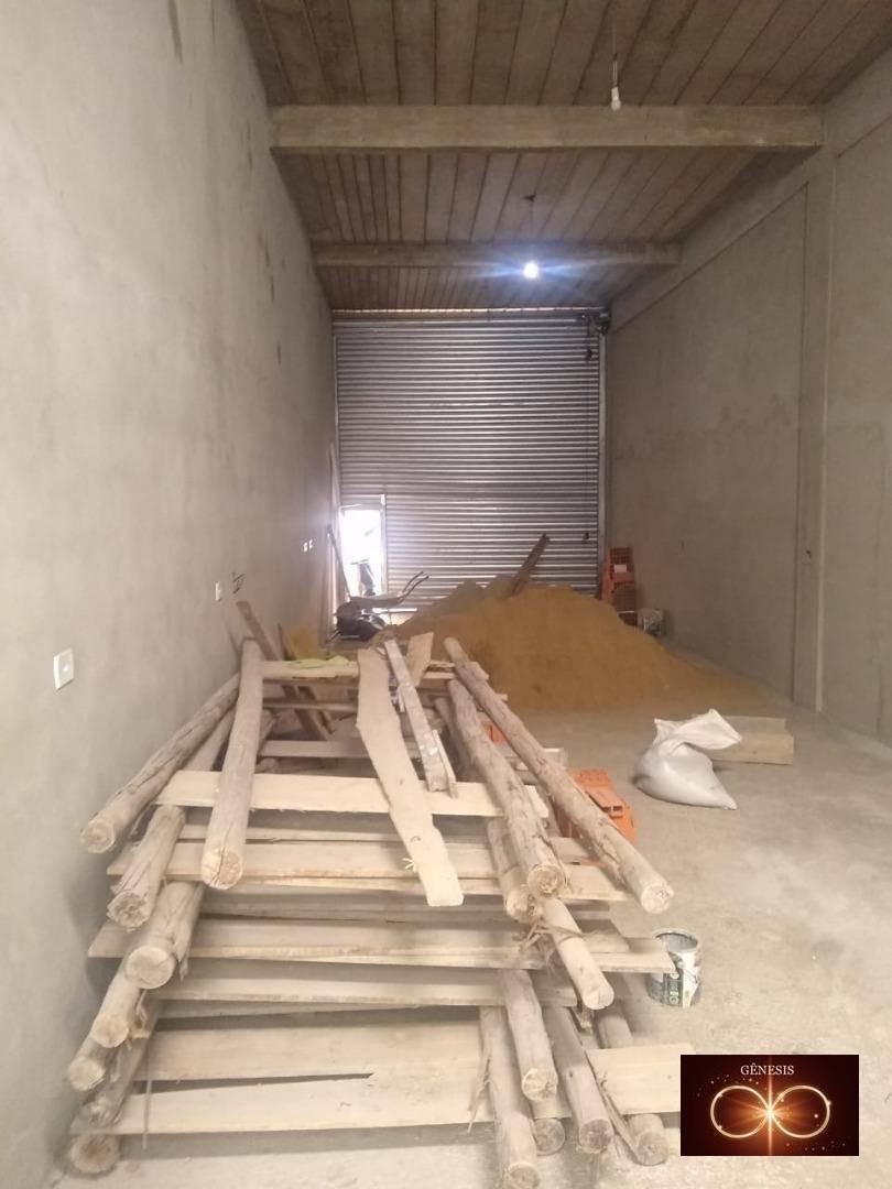 salão para alugar, 110 m² por r$ 6.000/mês - capão redondo - são paulo/sp - sl0002