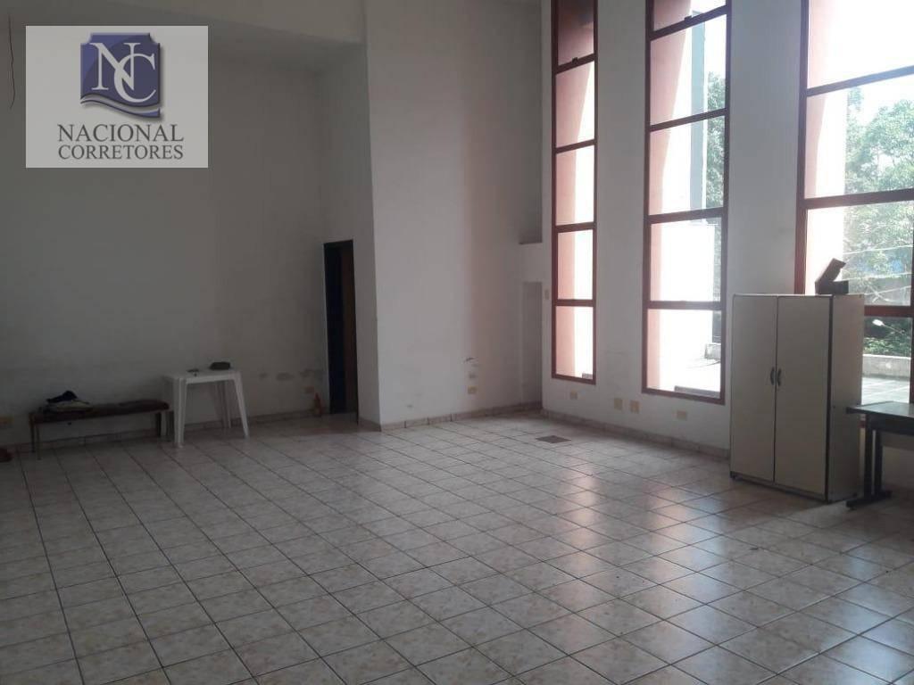 salão para alugar, 116 m² por r$ 1.200,00/mês - vila alto de santo andré - santo andré/sp - sl0822
