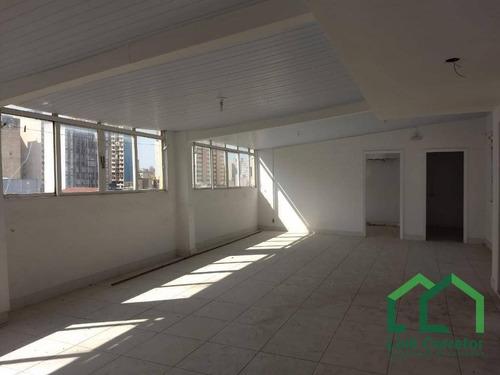 salão para alugar, 120 m² por r$ 2.000/mês - centro - campinas/sp - sl0006