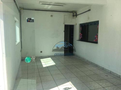 salão para alugar, 120 m² por r$ 5.000/mês - vila carrão - são paulo/sp - sl0003