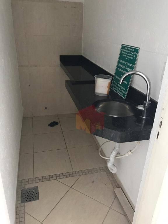 salão para alugar, 130 m² por r$ 3.000/mês - centro - americana/sp - sl0054