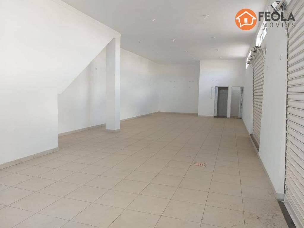 salão para alugar, 138 m² por r$ 2.000/mês - parque são jerônimo - americana/sp - sl0309