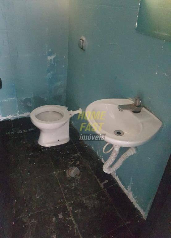 salão para alugar, 140 m² por r$ 2.500/mês - parque continental - guarulhos/sp - sl0248