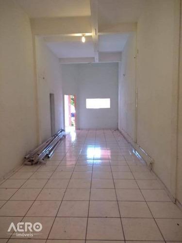 salão para alugar, 150 m² por r$ 1.600,00/mês - centro - bauru/sp - sl0017