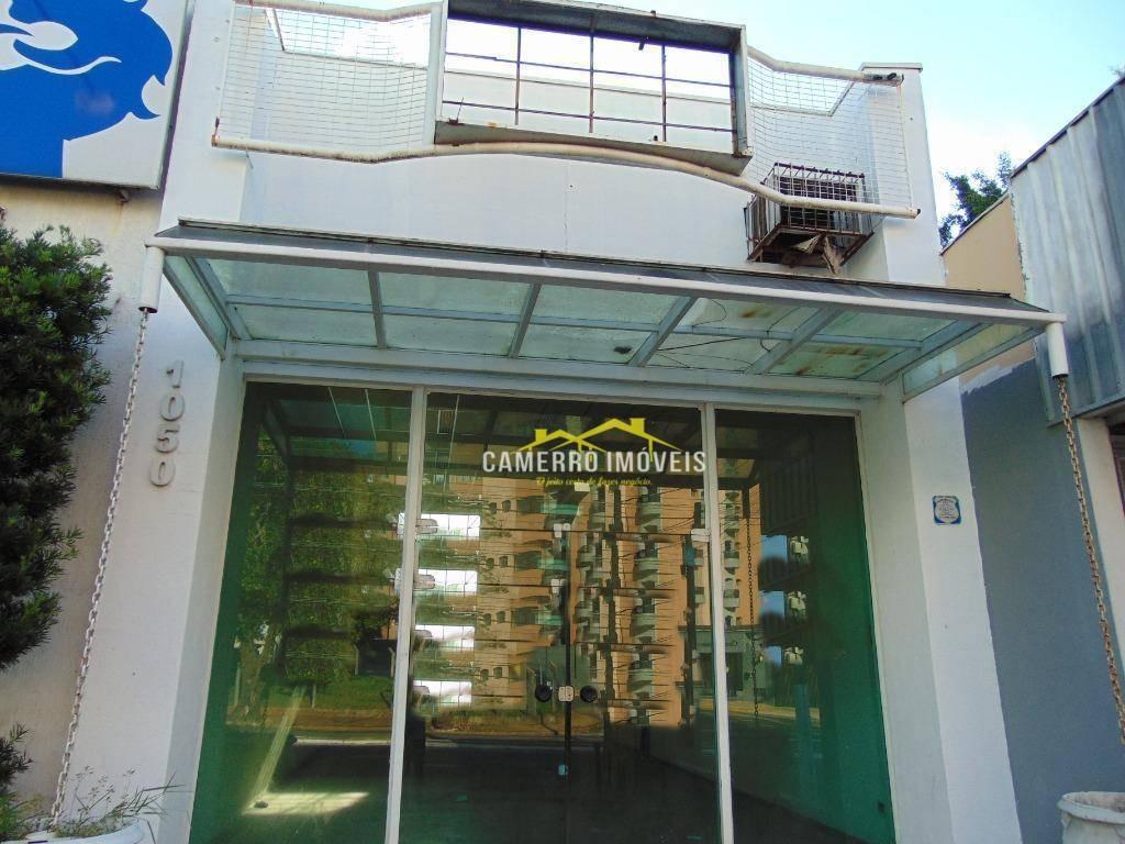 salão para alugar, 150 m² por r$ 3.000,00/mês - vila pavan - americana/sp - sl0329