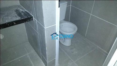 salão para alugar, 170 m² por r$ 4.500/mês - vila carrão - são paulo/sp - sl0088