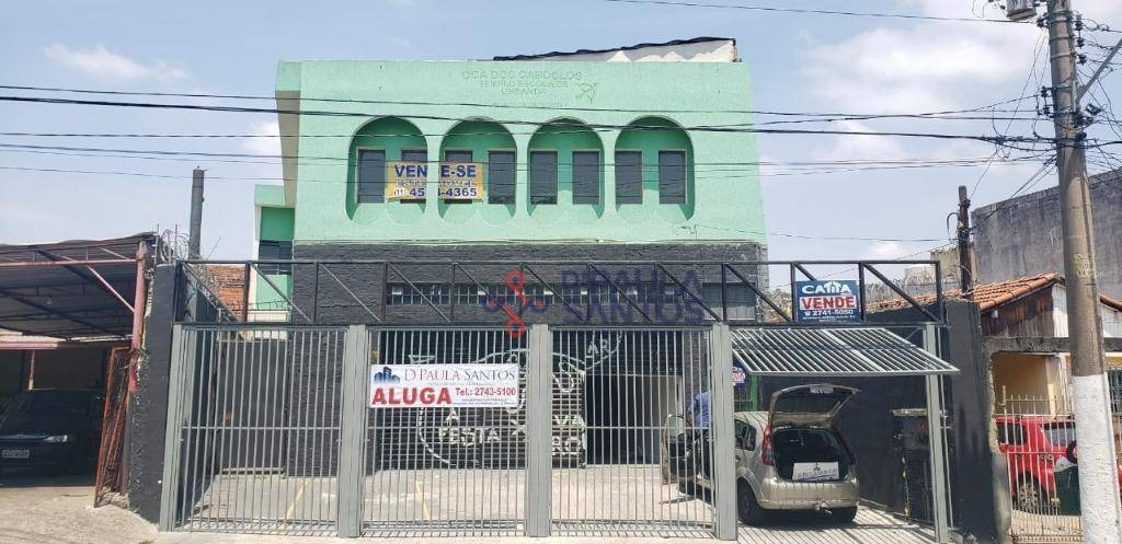 salão para alugar, 180 m² por r$ 2.200/mês - vila nhocune - são paulo/sp - sl0038