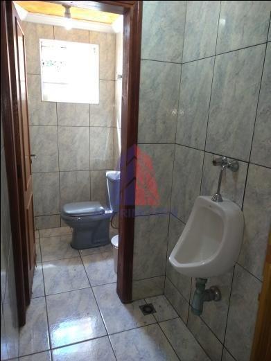 salão para alugar, 180 m² por r$ 5.000,00/mês - parque novo mundo - americana/sp - sl0039