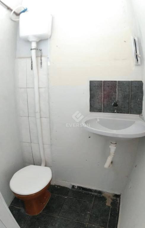 salão para alugar, 20 m² por r$ 400/mês - vila nova - rio claro/sp - sl0060