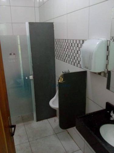 salão para alugar, 200 m² por r$ 2.900/mês - jardim são paulo - guarulhos/sp - sl0720