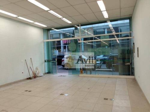 salão para alugar, 210 m² por r$ 10.000/mês - vila gomes cardim - são paulo/sp - sl0059