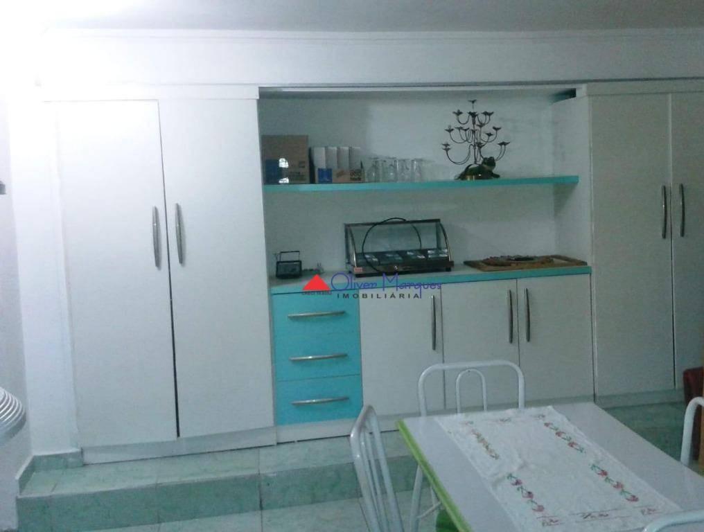 salão para alugar, 210 m² por r$ 5.500,00/mês - vila osasco - osasco/sp - sl0092