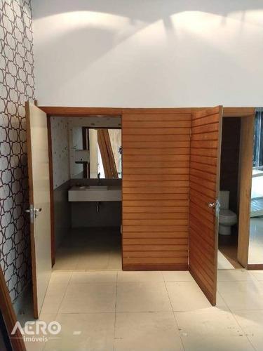 salão para alugar, 220 m² por r$ 6.000/mês - vila santa tereza - bauru/sp - sl0019