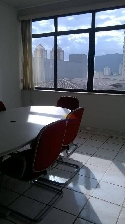 salão para alugar, 228 m² por r$ 3.170,00/mês - centro - mogi das cruzes/sp - sl0017
