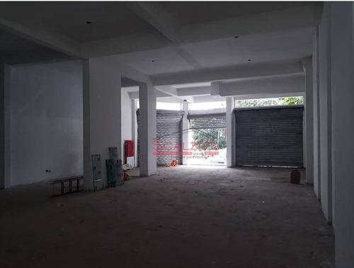 salão para alugar, 232 m² por r$ 12.000/mês - vila carrão - são paulo/sp - sl0015