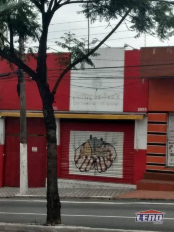 salão para alugar, 240 m² por r$ 7.000,00/mês - vila marieta - são paulo/sp - sl0053