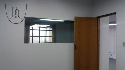 salão para alugar, 250 m² por r$ 3.500,00/mês - centro - bragança paulista/sp - sl0005