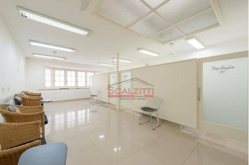 salão para alugar, 255 m² por r$ 12.000/mês - jardim paulista - são paulo/sp - sl0022