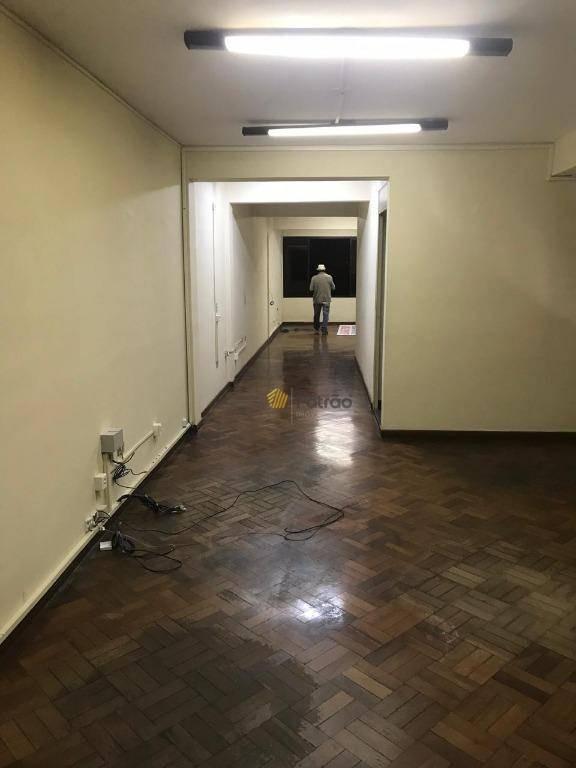 salão para alugar, 258 m² por r$ 8.000,00/mês - jardim três marias - são bernardo do campo/sp - sl0096