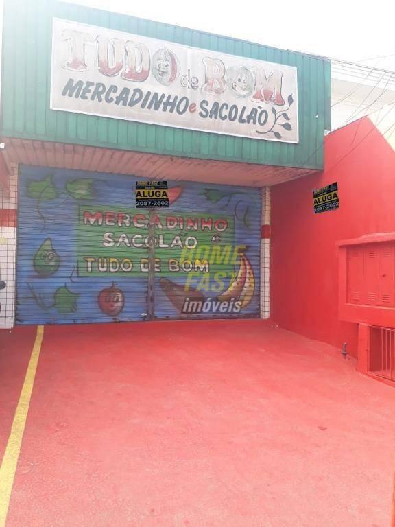 salão para alugar, 35 m² por r$ 2.500,00/mês - parque continental i - guarulhos/sp - sl0258