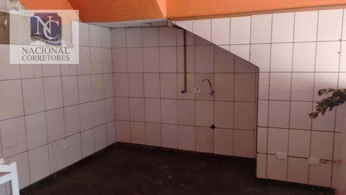 salão para alugar, 40 m² por r$ 1.000,00/mês - parque das nações - santo andré/sp - sl0502