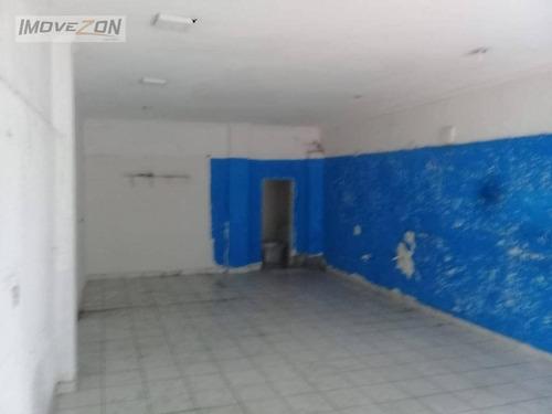 salão para alugar, 40 m² por r$ 1.200/mês - carrão - são paulo/sp - sl0126