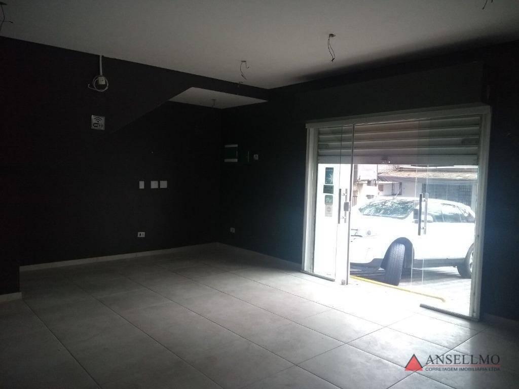salão para alugar, 40 m² por r$ 2.800,00/mês - centro - são bernardo do campo/sp - sl0051