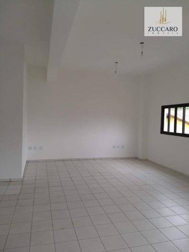 salão para alugar, 440 m² por r$ 12.000,00/mês - jardim bom clima - guarulhos/sp - sl0667