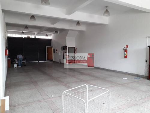 salão para alugar, 450 m² por r$ 5.000/mês - vila marieta - são paulo/sp - sl0003