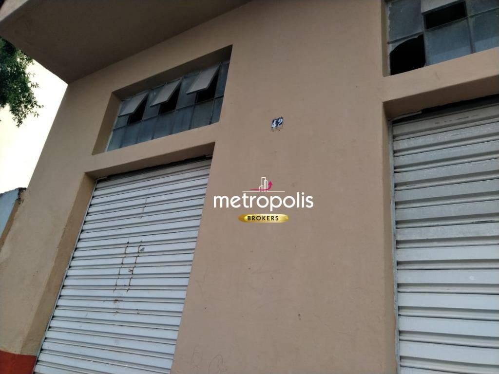 salão para alugar, 48 m² por r$ 1.200,00/mês - boa vista - são caetano do sul/sp - sl0086