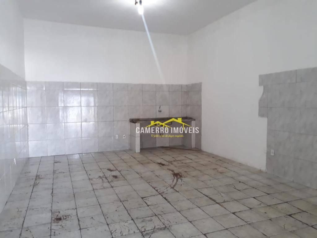 salão para alugar, 50 m² por r$ 650/mês - parque são jerônimo - americana/sp - sl0294