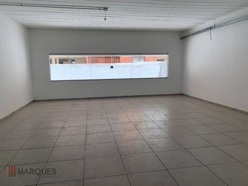 salão para alugar, 500 m² por r$ 5.900,00/mês - centro - guarulhos/sp - sl0014