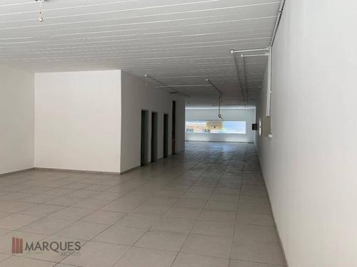 salão para alugar, 500 m² por r$ 6.600/mês - centro - guarulhos/sp - sl0014