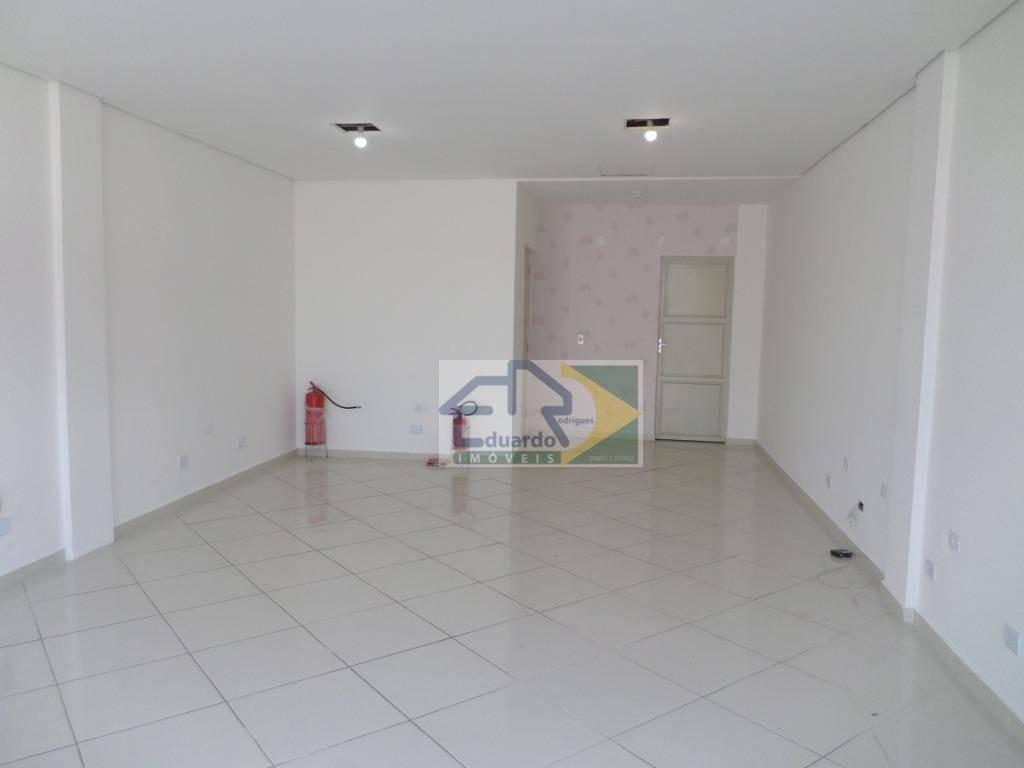 salão para alugar, 57 m² por r$ 2.500/mês - centro - suzano/sp - sl0084