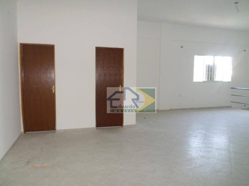 salão para alugar, 640 m² - centro - suzano/sp - sl0035
