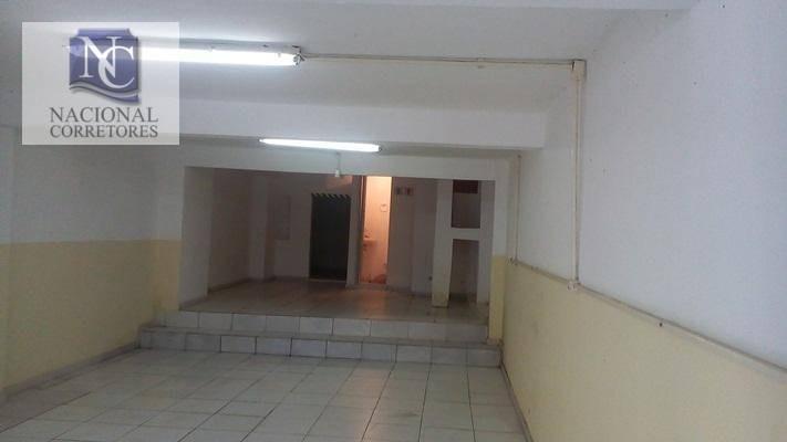 salão para alugar, 70 m² por r$ 1.000,00/mês - parque capuava - santo andré/sp - sl0593