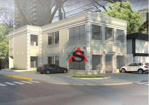 salão para alugar, 749 m² por r$ 56.000,00/mês - moema - são paulo/sp-sl0100 - sl0100