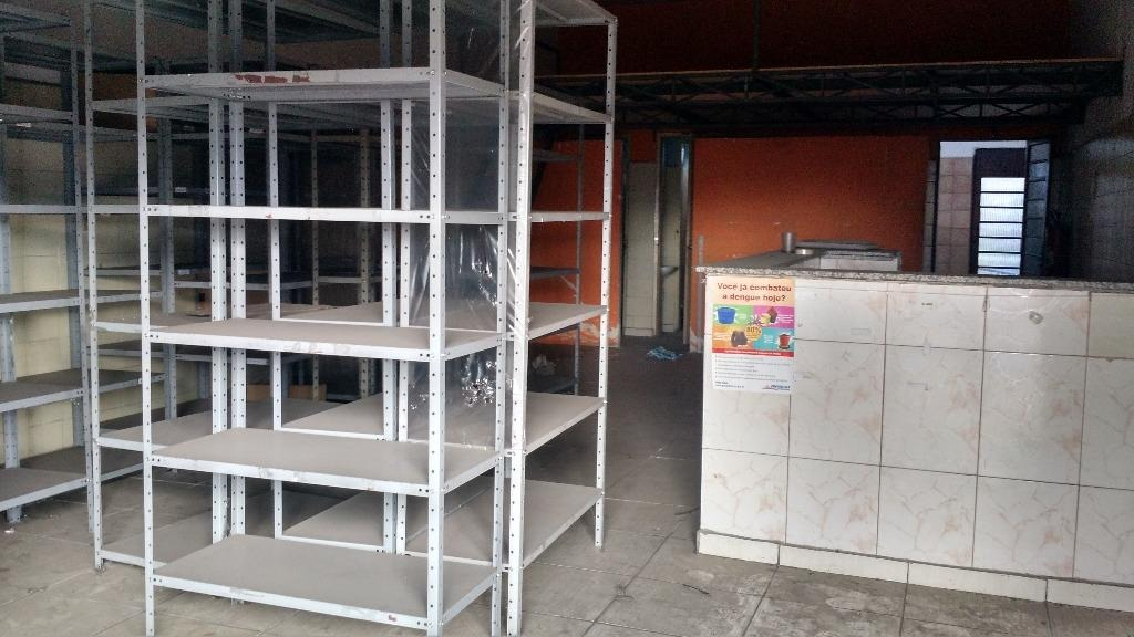 salão para alugar, 80 m² sl0012 - sl0012