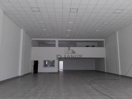salão para alugar, 850 m² por r$ 30.000/mês - chácaras são quirino - campinas/sp - sl0707