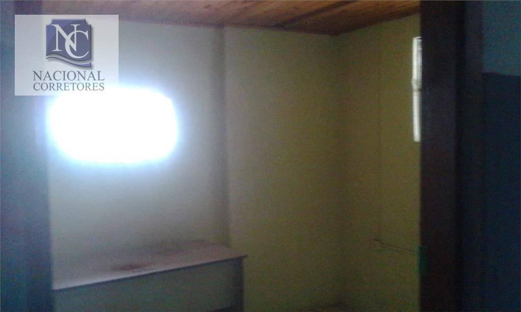 salão para alugar, 90 m² por r$ 1.300,00/mês - vila camilópolis - santo andré/sp - sl0265