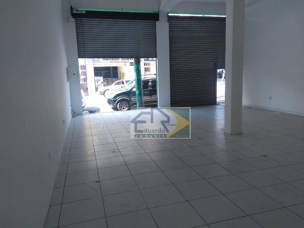 salão para alugar, 91 m² por r$ 2.200/mês - centro - suzano/sp - sl0071