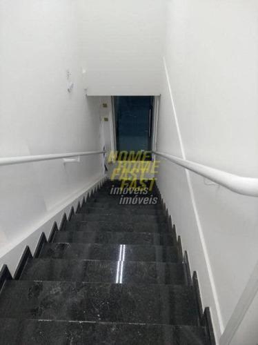 salão para alugar, 95 m² por r$ 4.000/mês - sl0198