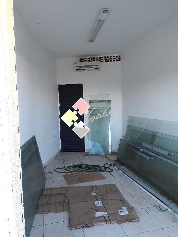 salão para locação comercial:  1 sala 16 mts; 1 banheiro; 4 garagens - bet007 - 32300163
