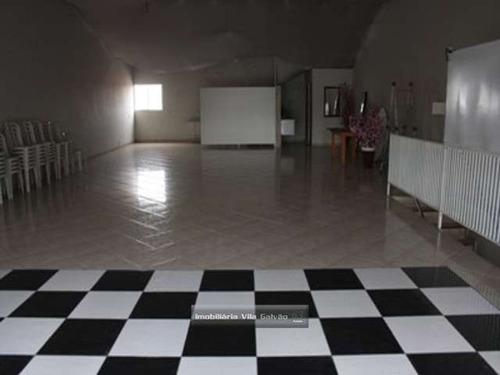 salão (prédio) de 170 metros na parte de baixo - 2998-2